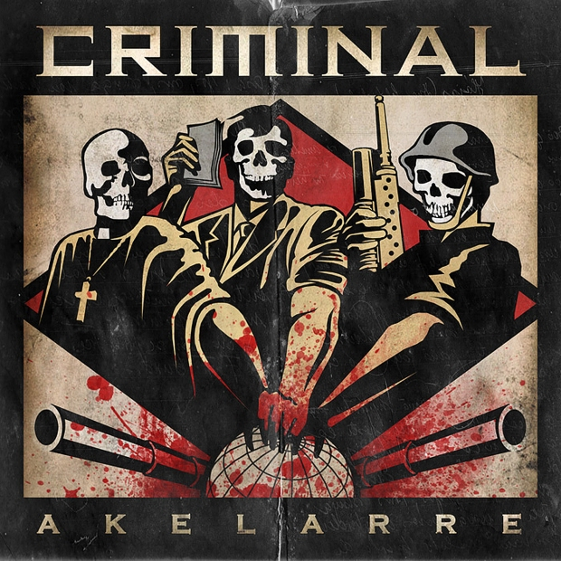 Criminal, Akelarre, cover