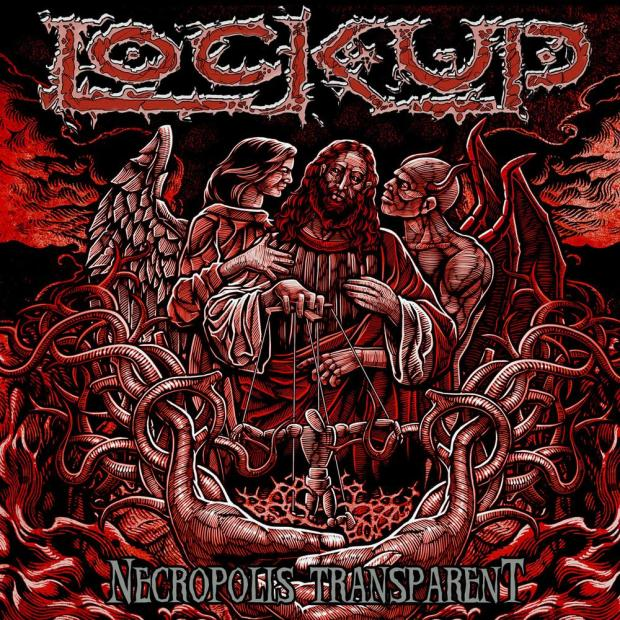 Lock Up, Necropolis Transparent, cover