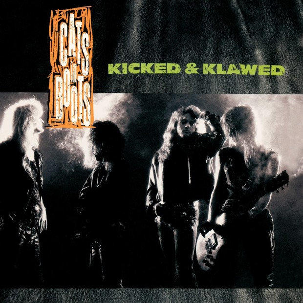 Cats in Boots, Kicked & Klawed, cover